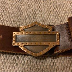 Harley-Davidson Women's Leather Belt